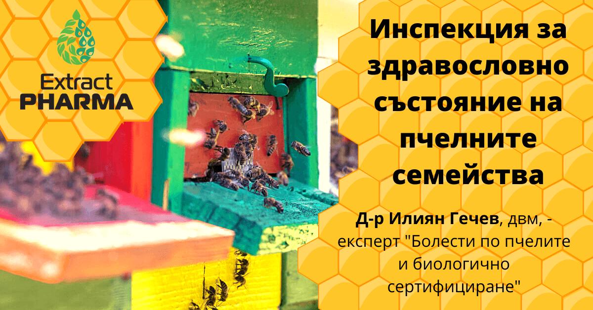 Инспекция за здравословното състояние на пчелните семейства