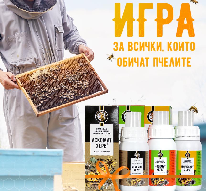 """Игра """"С грижа за пчелите"""""""